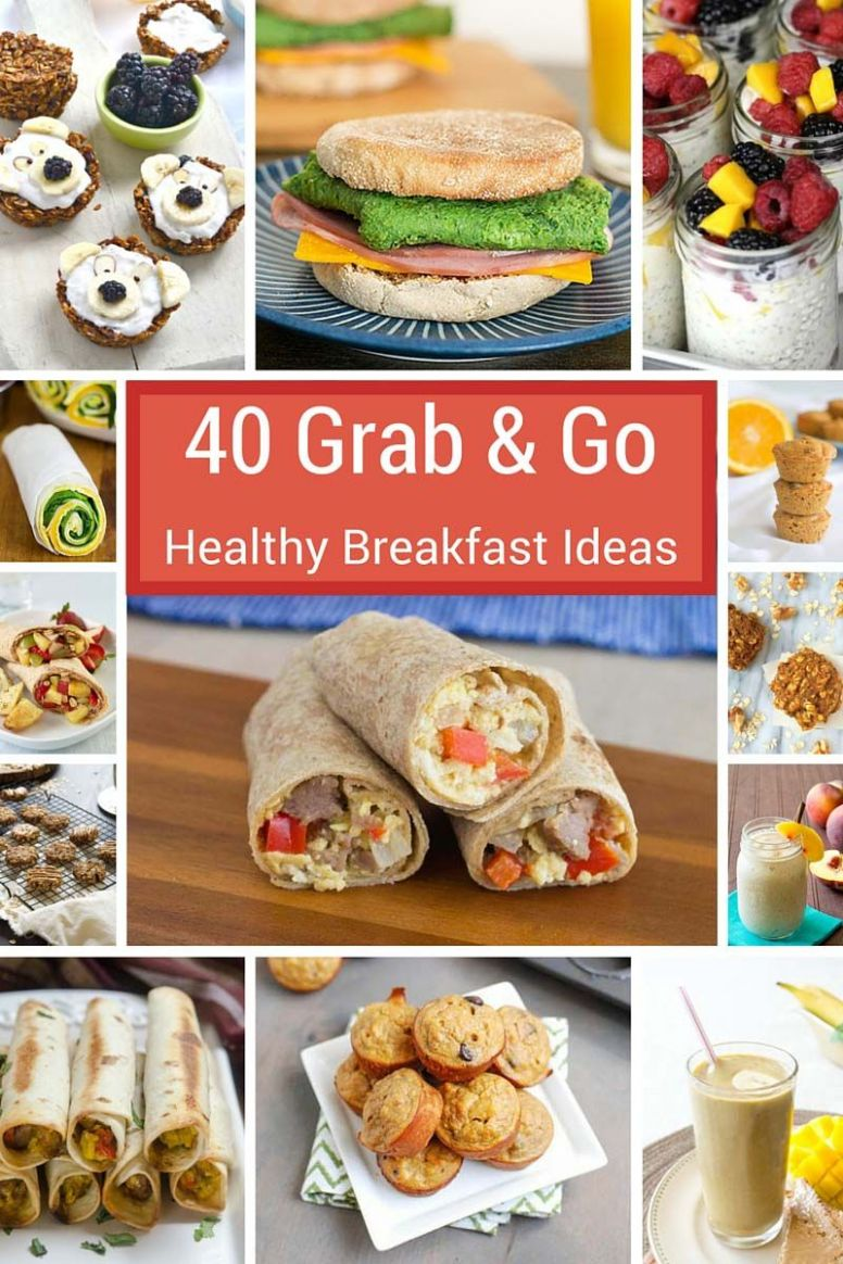 8 Grab-and-Go Healthy Breakfast Ideas | Breakfast for kids ..