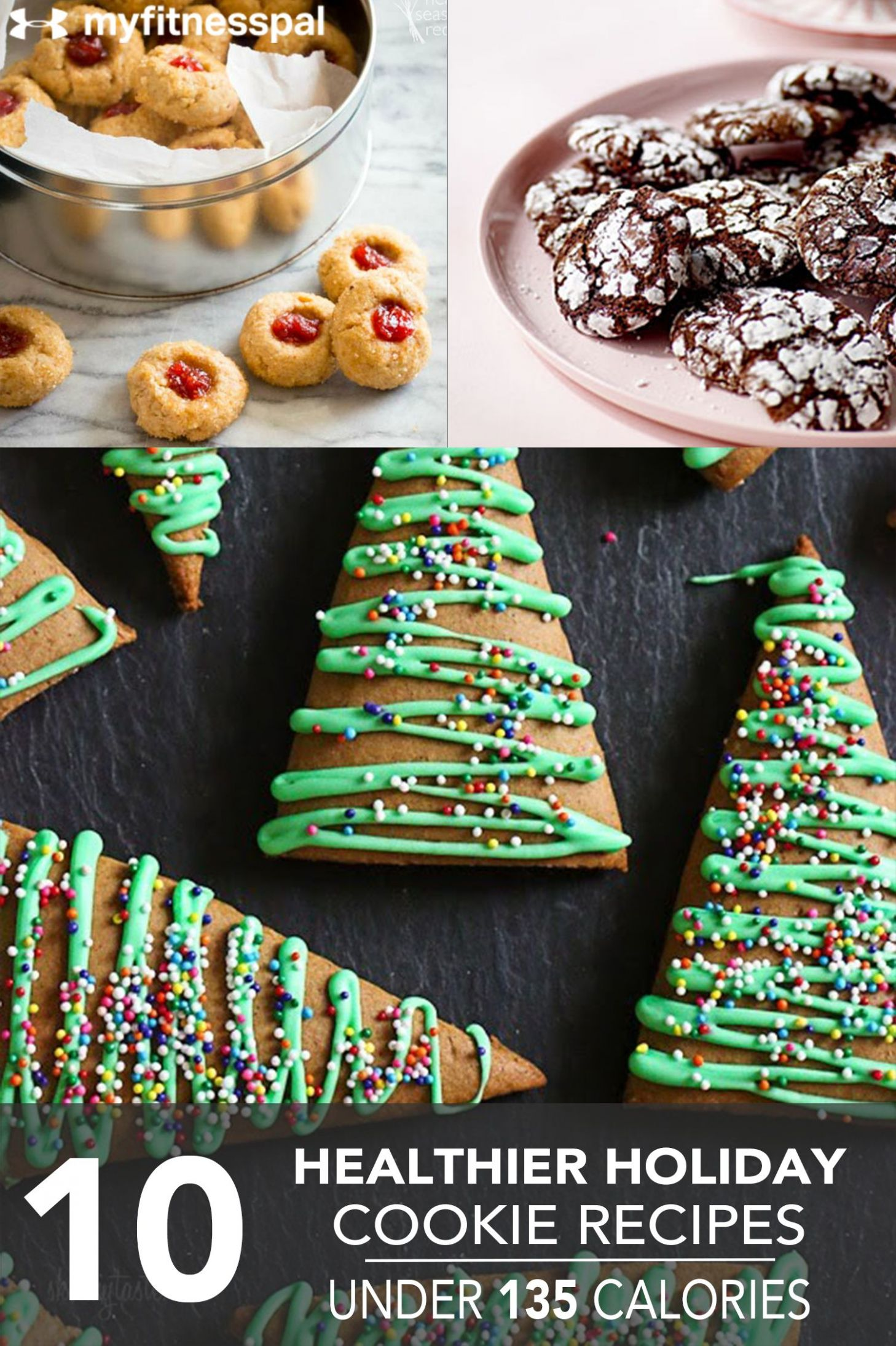 8 Healthier Holiday Cookie Recipes Under 8 Calories | Healthy ..