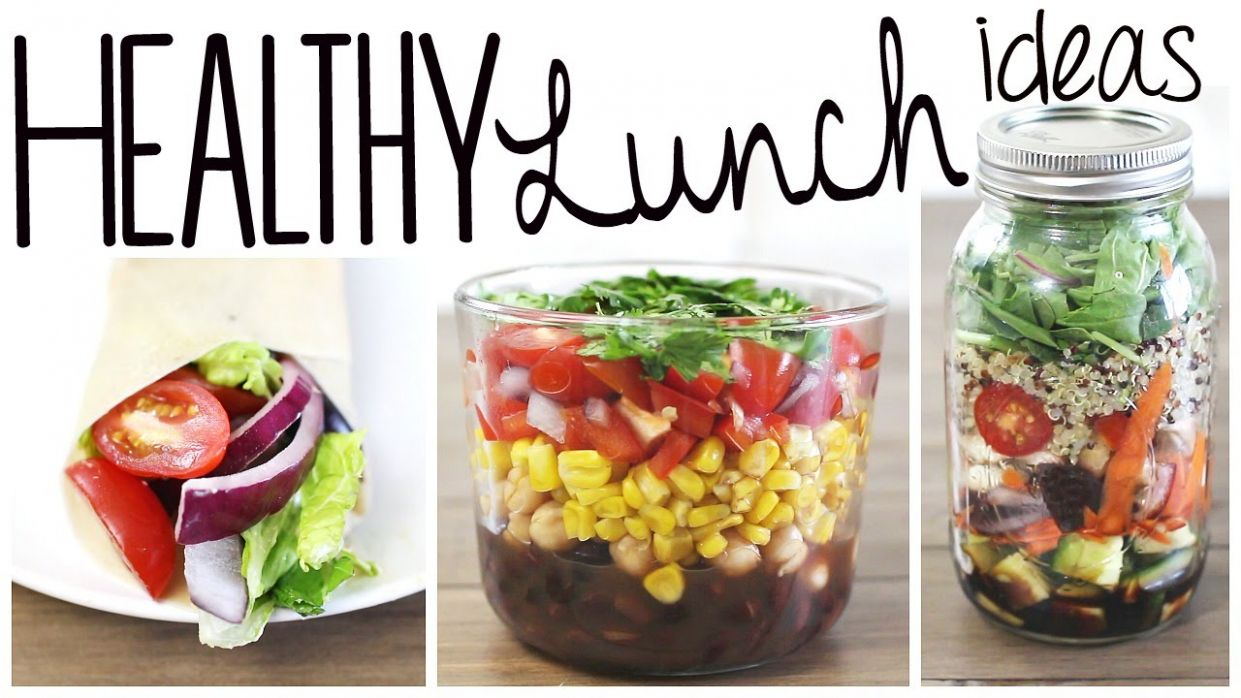8 Healthy & Easy Lunch Recipes (Vegan & Gluten Free!) - Recipes Vegetarian Youtube