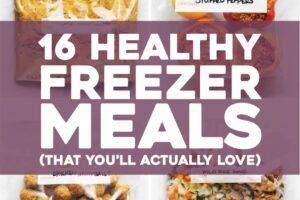 8 Healthy Freezer Meals (That You'll Actually Love) - Pinch of Yum