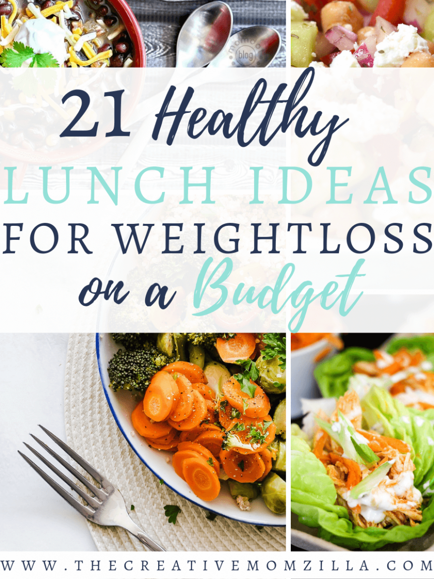 8 Healthy Lunch Ideas for Weight loss on a budget | The Creative ..