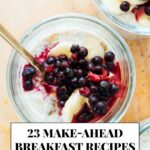 8 Healthy Make Ahead Breakfast Recipes – Cookie And Kate – Breakfast Recipes You Can Freeze