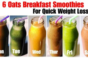 8 Healthy Oats Smoothie Recipe | How to make Oatmeal Smoothies | Weight  Loss recipe | In Hindi