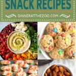 8 Healthy Snack Recipes - Dinner at the Zoo