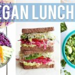 8 HEALTHY + VEGAN LUNCH IDEAS | For Work & School – Recipes Vegetarian Youtube