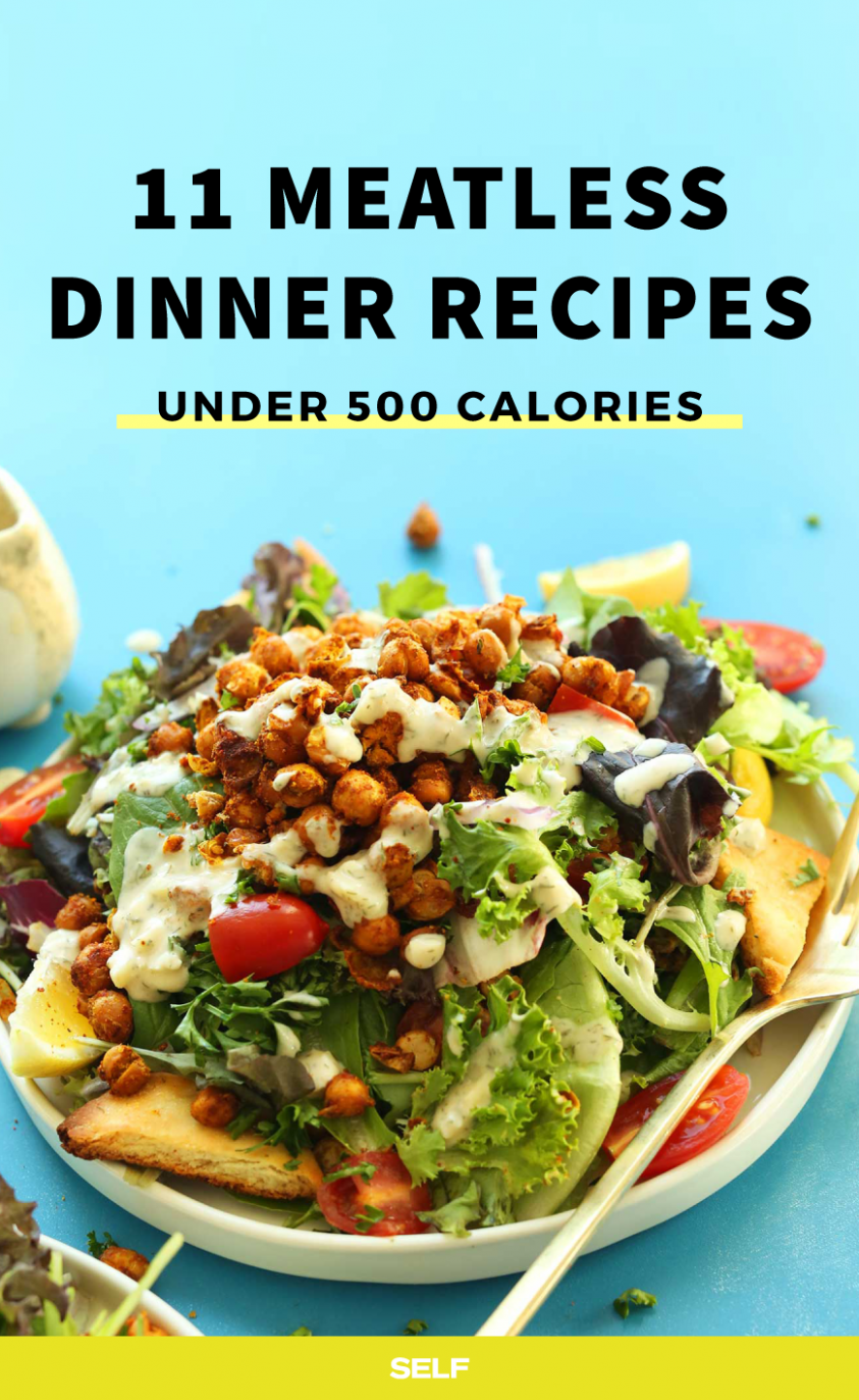 8 High-Protein Vegetarian Recipes Under 8 Calories | SELF - Vegetarian Recipes Under 500 Calories