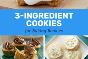 8-Ingredient Cookies for Baking Rookies | Baking, 8 ingredient ...