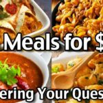 8 Meals For $8 For 8 Week: Answering Your Questions – Food Recipe Questions