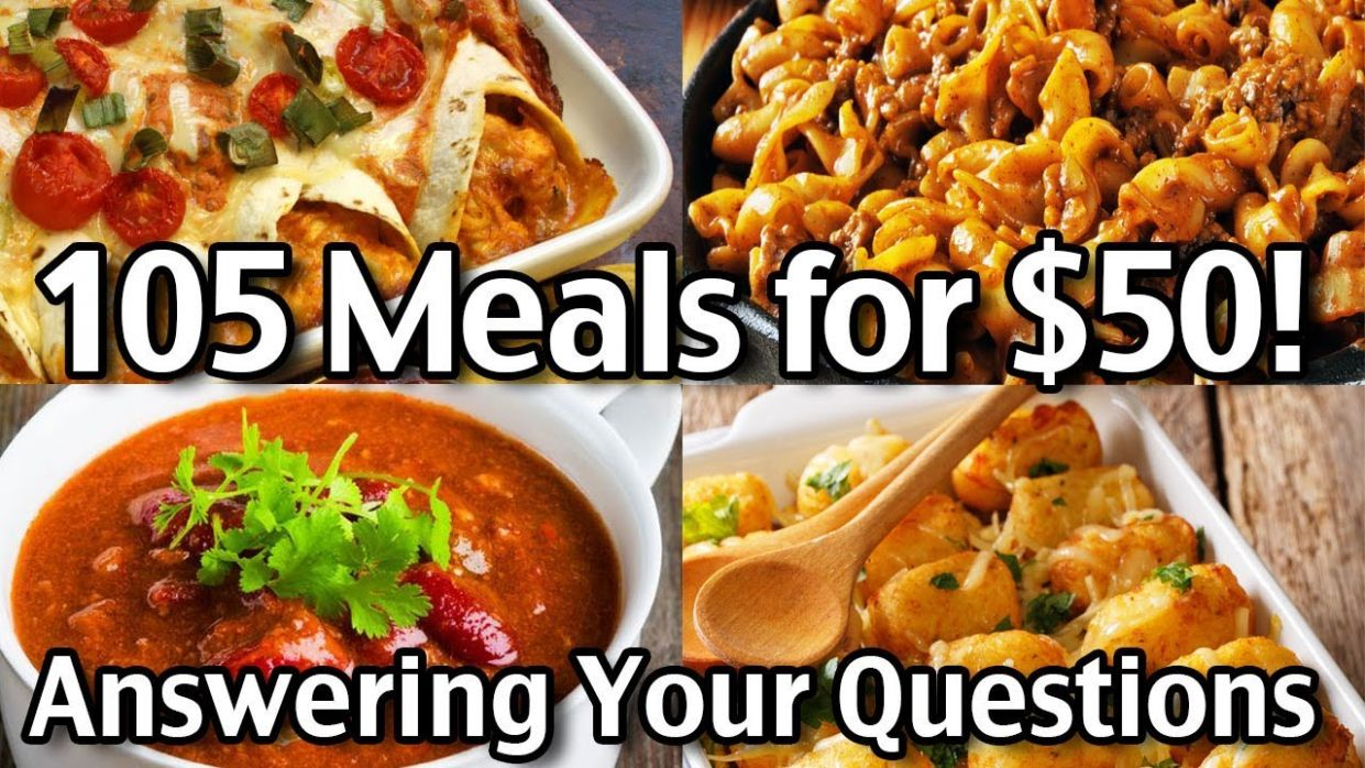 8 Meals for $8 for 8 week: Answering Your Questions - Food Recipe Questions