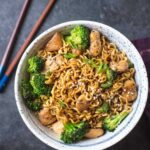8 Minute Chicken Ramen Stir Fry – Simple Recipes Ramen Noodles