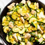 8 Minute Chicken Zucchini And Corn (Video) – IFOODreal – Healthy ..