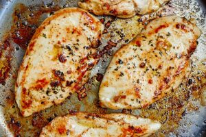 8-Minute Pan-Fried Chicken Breast