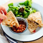 8 Minute Quesadillas – Recipe Vegetarian Quesadillas