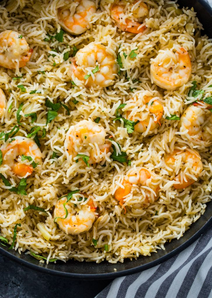 8 Minute Shrimp and Rice - Recipes Rice With Shrimp