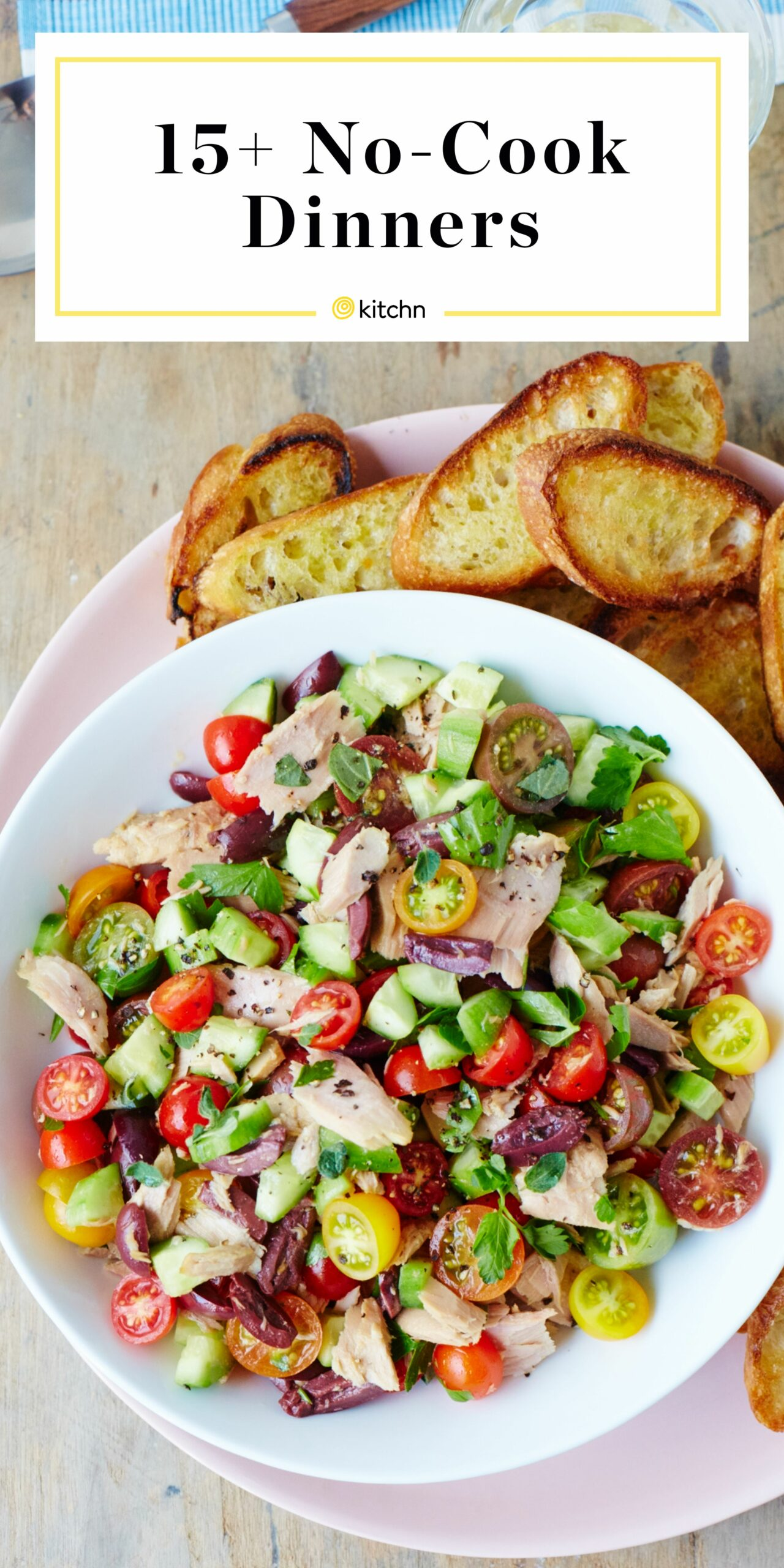 8 No-Cook Dinners for Summer | Kitchn - Summer Recipes Kitchn