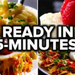 8 Recipes You Can Make In 8 Minutes – Food Recipes Easy At Home