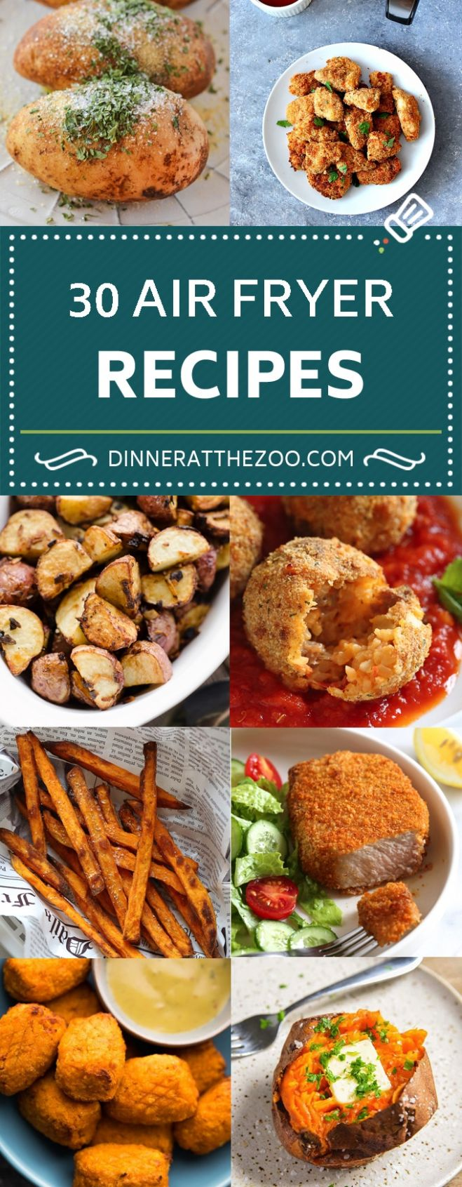 9 Air Fryer Recipes - Dinner at the Zoo - Recipes Dinner Air Fryer