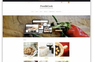 9 Best Food Recipes WordPress Themes 9 - Colorlib