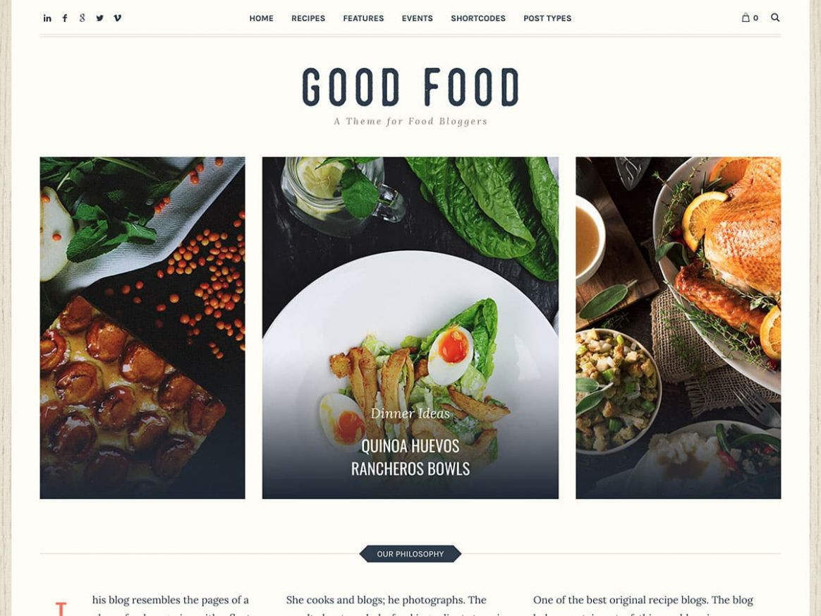 9+ Best Food WordPress Themes for Sharing Recipes 9 - aThemes - Food Recipes Sites