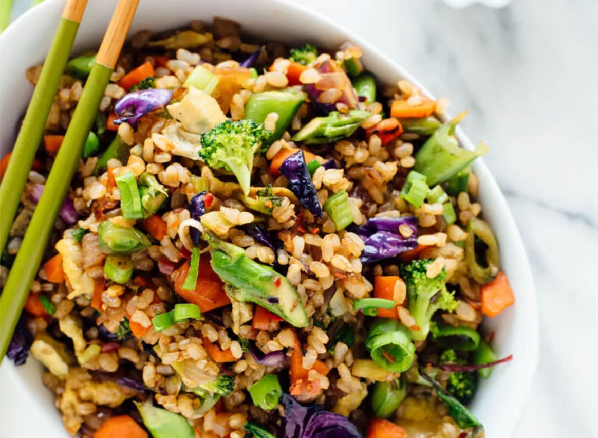 9+ Best Healthy Fried Rice Recipes for Weight Loss   Eat This Not ..