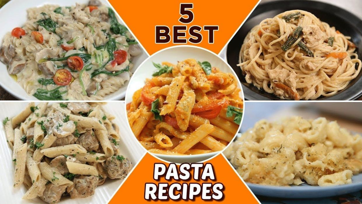 9 BEST Pasta Recipes - Delicious Pasta Recipes For Lunch/Dinner ...