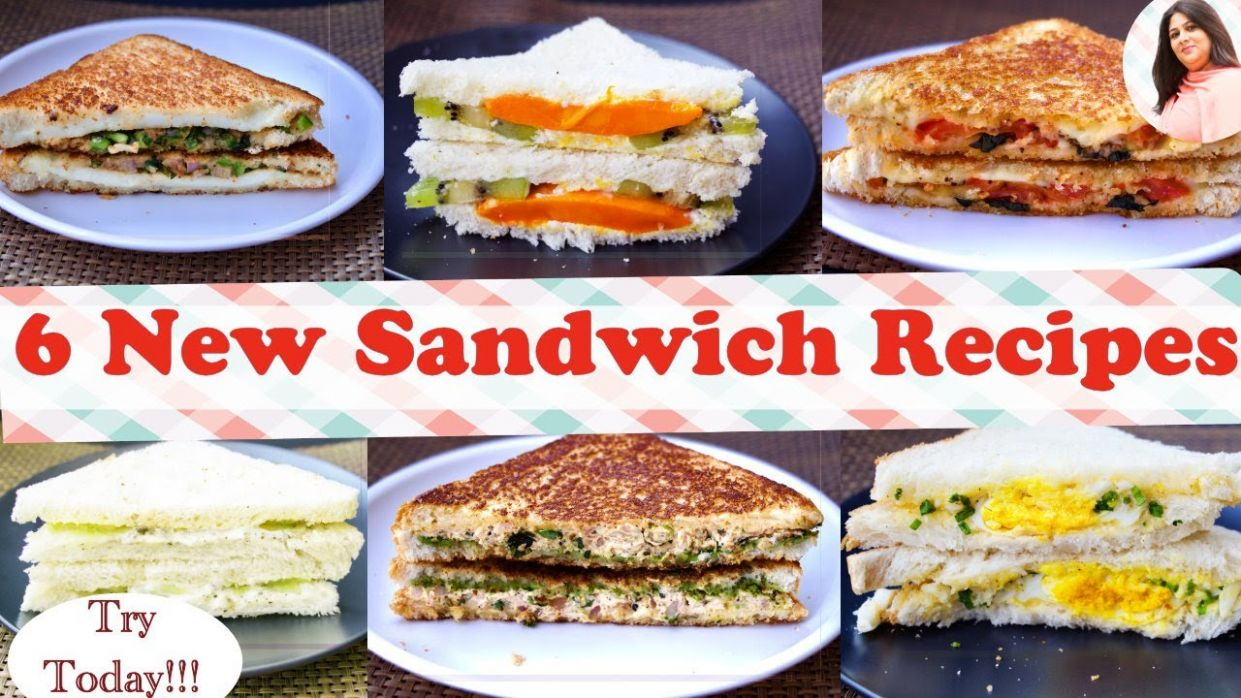 9 Best Sandwich Recipes, New Easy & Healthy Sandwich recipes for kids In 9  Min, breakfast/ lunch box - Sandwich Recipes Easy Healthy