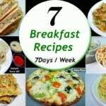 9 Breakfast recipes || 9 Days/Week Breakfast recipes || Simple & Easy  Recipes