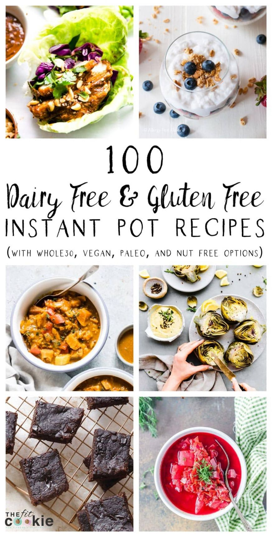 9 Dairy Free and Gluten Free Instant Pot Recipes • The Fit Cookie - Vegetable Recipes Dairy Free
