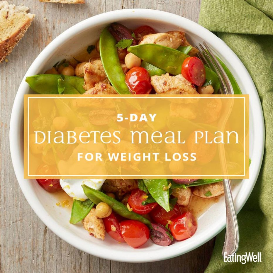9-Day Diabetes Meal Plan for Weight Loss | EatingWell - Recipes For Weight Loss Diabetics