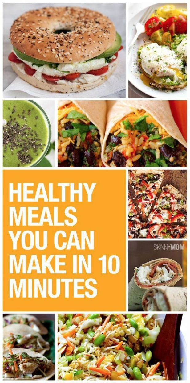 9 Days of 9-Minute Meals for Busy, Healthy Women | Healthy eating ..