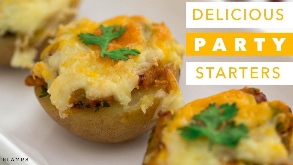 9 Delicious & Quick Party Starters | Vegetarian Indian Appetisers or Snacks