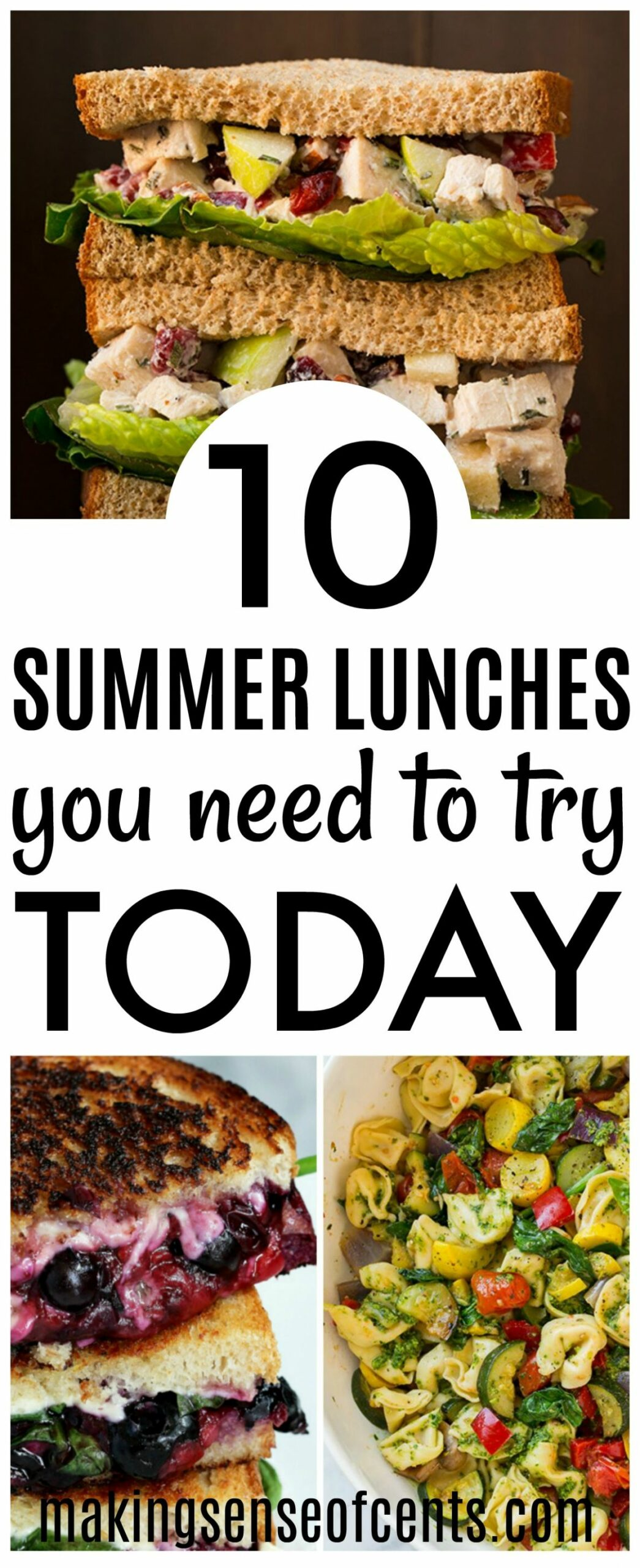 9 Delicious Summer Lunch Ideas - Summer Meals You Need To Make! - Summer Recipes For Lunch