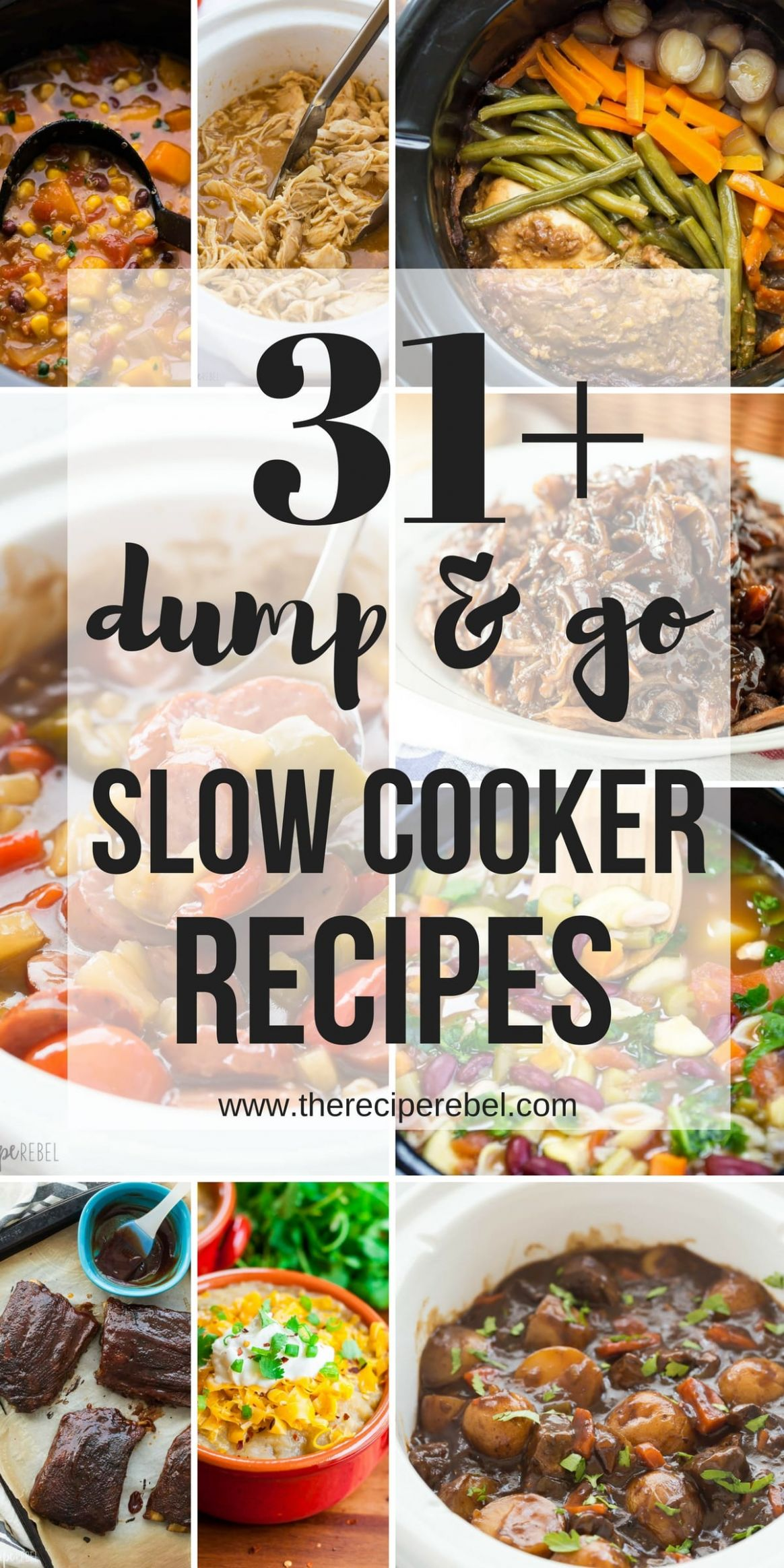 9 Dump and Go Slow Cooker Recipes (Crock Pot Dump Meals) - Recipes Cooking For A Crowd