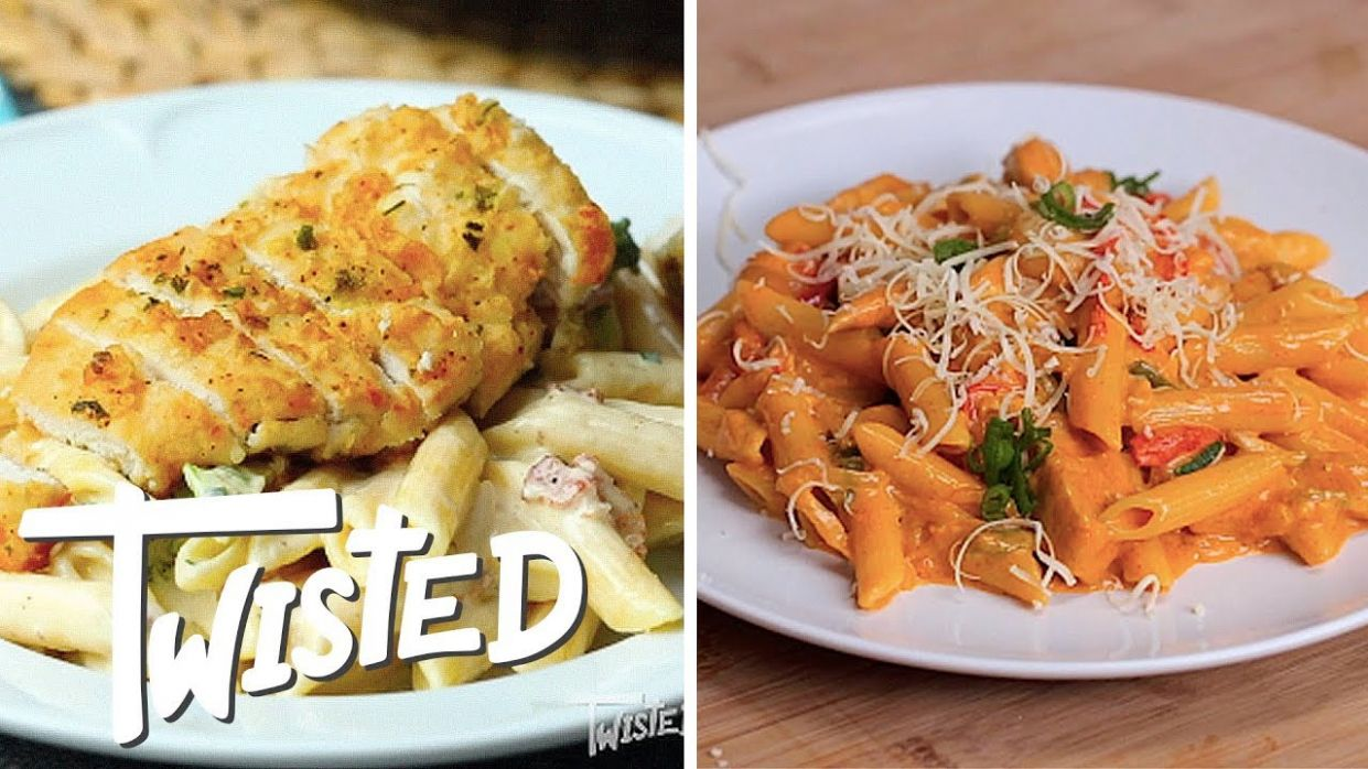 9 Easy Chicken Pasta Dishes - Pasta Recipes On Youtube
