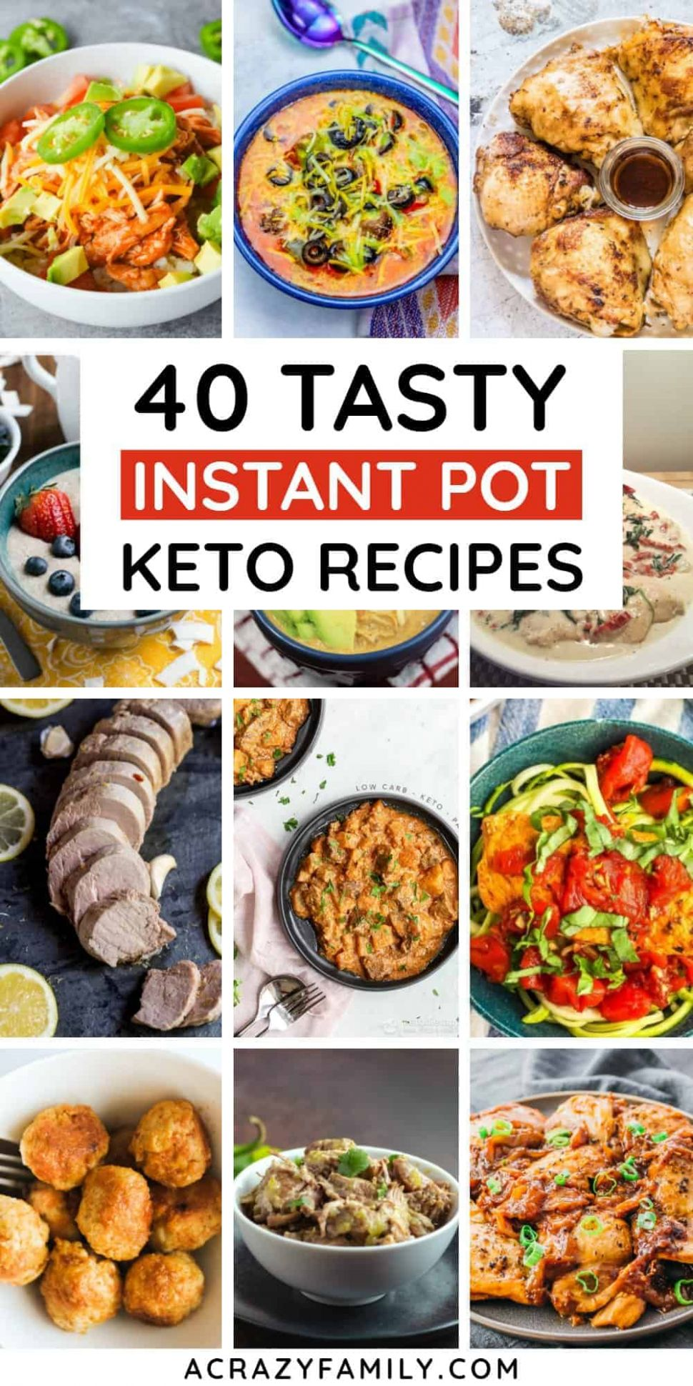 9 Easy Instant Pot Keto Recipes You Must Try - Dinner Recipes You Must Try