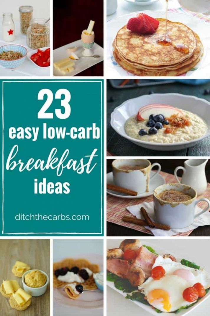 9 Easy Low Carb Breakfast Ideas - easy, quick and sugar free - - Breakfast Recipes No Carbs