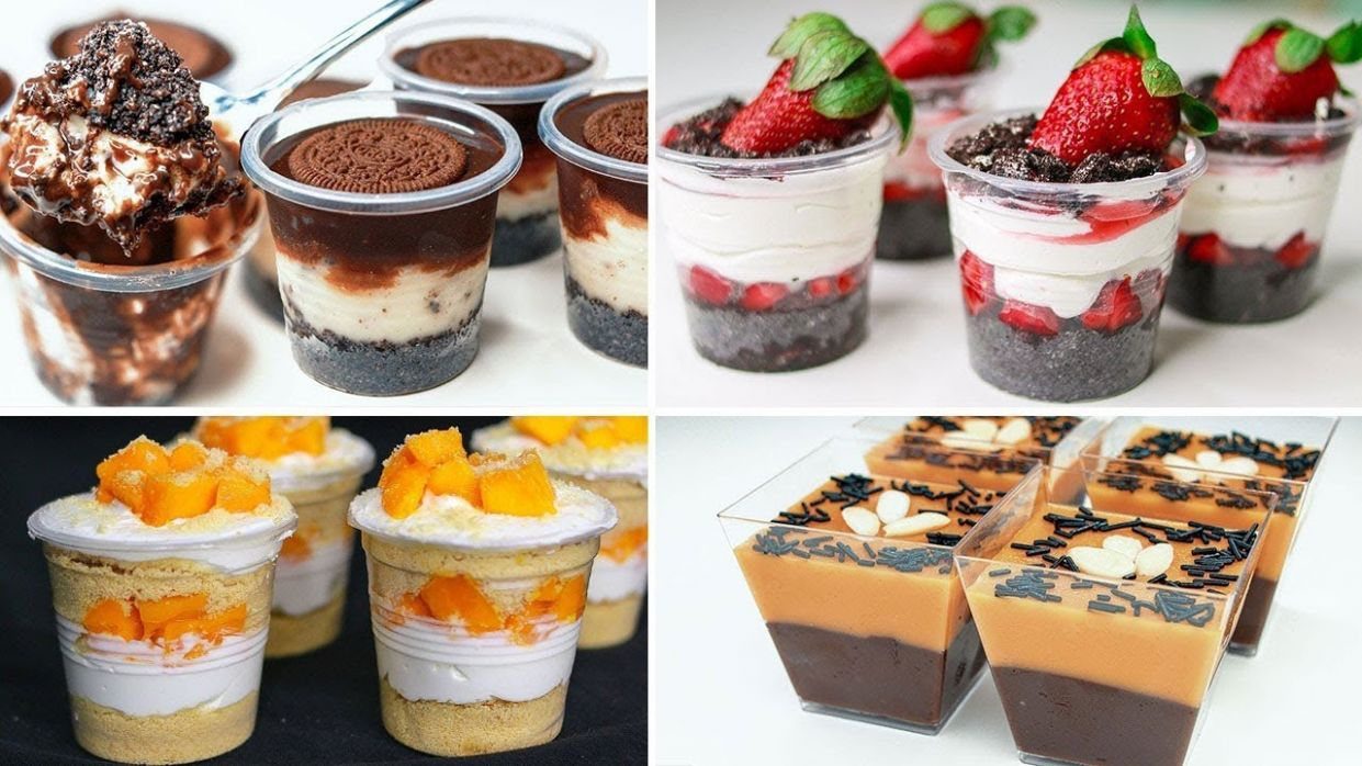9 Easy No Bake Dessert Cup Recipe | Eggless Dessert Idea | Yummy - Dessert Recipes In A Cup