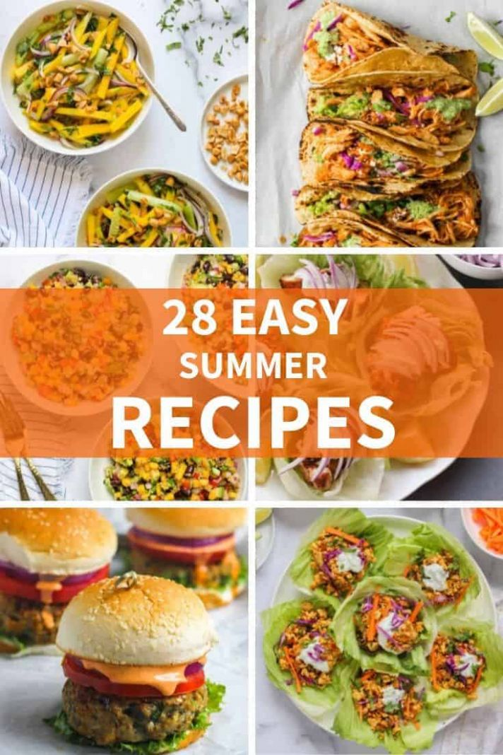 9 EASY Summer Recipes - Ministry of Curry - Summer Recipes For Lunch