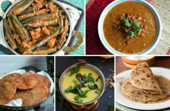 9 Everyday Maharashtrian Recipes With Serving Combinations For ...