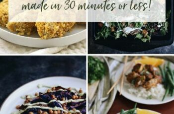 9 Gluten-Free Dinner Recipes in Under 9 Minutes - The Healthy Maven