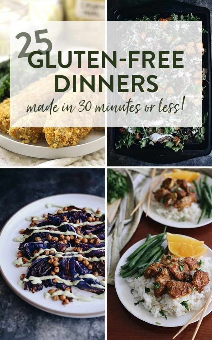 9 Gluten-Free Dinner Recipes in Under 9 Minutes - The Healthy Maven - Recipes Dinner Gluten Free