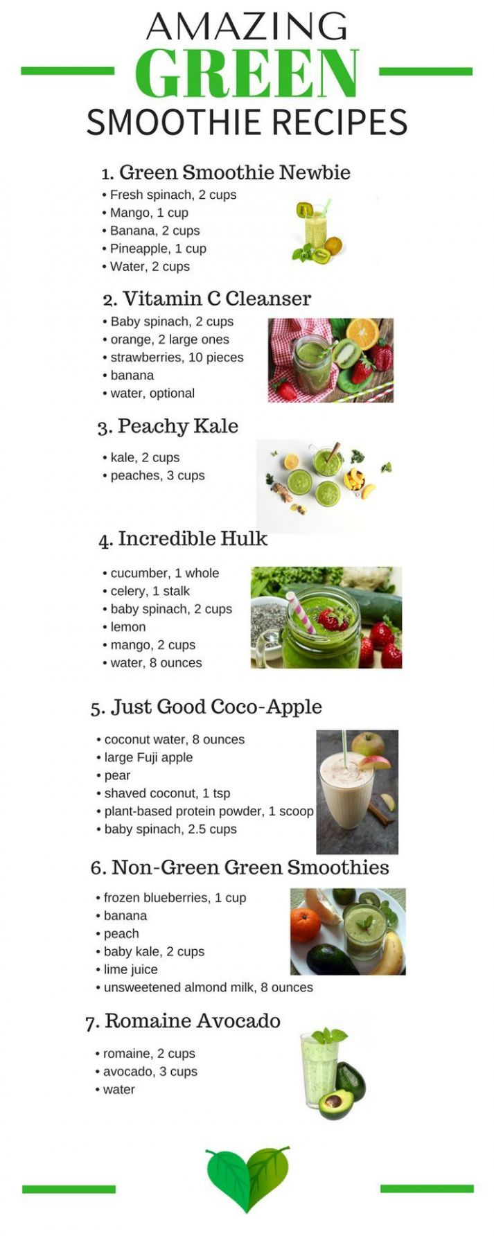 9 Green Smoothies That Taste Like Heaven - Every Home Remedy ..