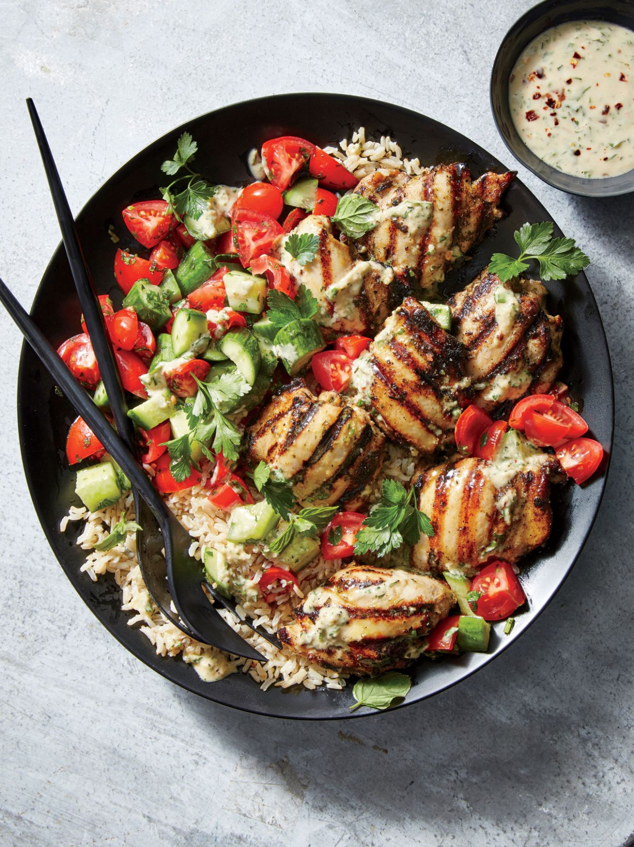 9+ Grilled Chicken Recipes | Cooking Light - Dinner Recipes Grill