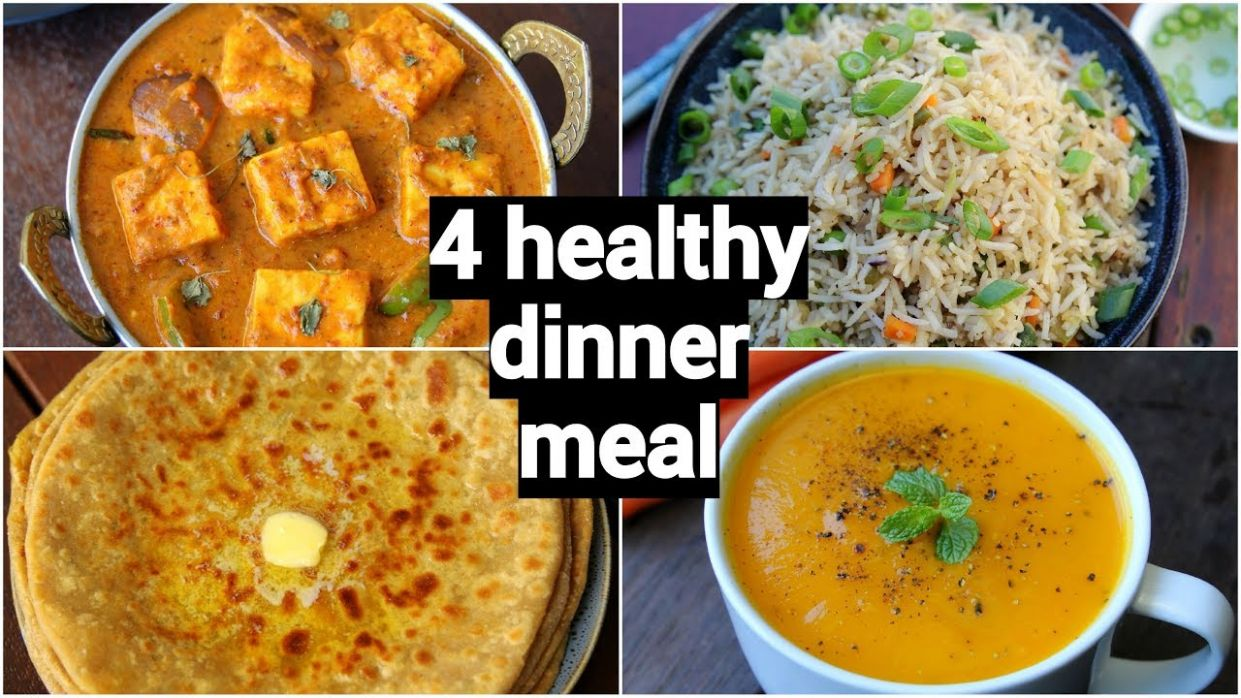 9 healthy & quick dinner recipes | easy dinner party recipe ideas | indian  dinner meal ideas - Dinner Recipes Hebbars