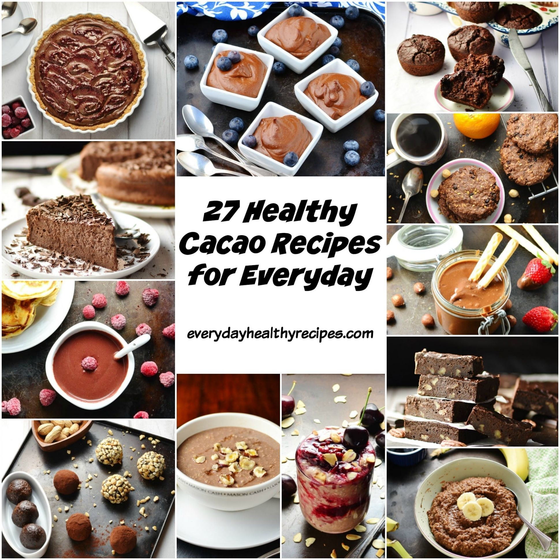9 Healthy Cacao Recipes for Everyday - Everyday Healthy Recipes - Healthy Recipes Everyday