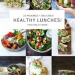 9 Healthy Delicious Lunches!   Feasting At Home – Recipes Summer Buffet Lunch