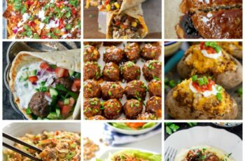 9 Healthy Ground Beef Dinner Ideas - Clean Eating with kids