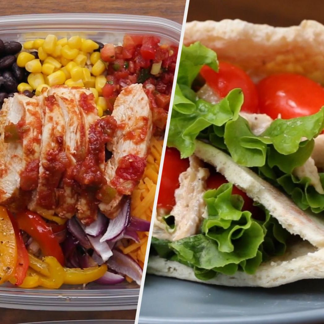 9 Healthy On-The-Go Meals | Recipes - Healthy Recipes On The Go