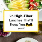 9 High Fiber Lunches That'll Keep You Full 'Til Dinner | Healthy ..