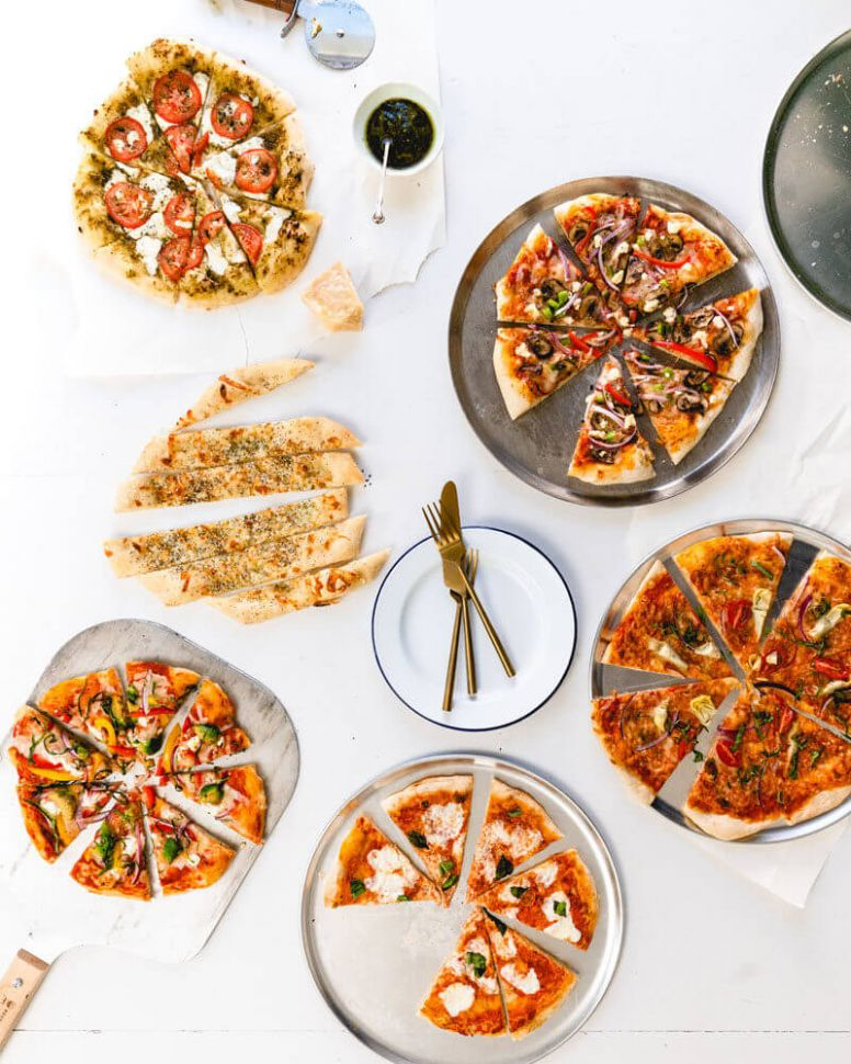 9 Homemade Pizza Recipes – A Couple Cooks - Pizza Recipes At Home